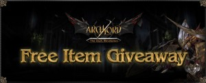 Archlord New Expansion Free Items Giveaway 2