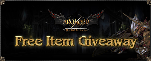 Archlord New Expansion Free Item Giveaway