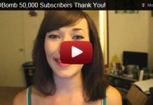 MMOBomb 50,000 Youtube Subscribers Thank You!