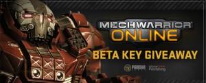 MechWarrior Online Closed Beta Key Giveaway 1