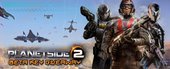 PlanetSide 2 Beta Key Giveaway