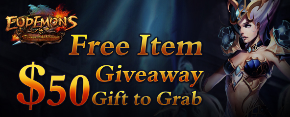 Eudemons Online Free Items Giveaway
