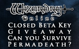 Wizardry Online Closed Beta Key Giveaway