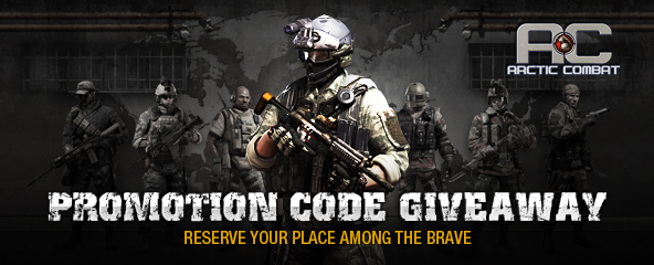 Arctic Combat Promotion Code Giveaway