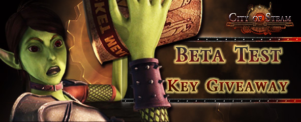 City of Steam Closed Beta Key Giveaway