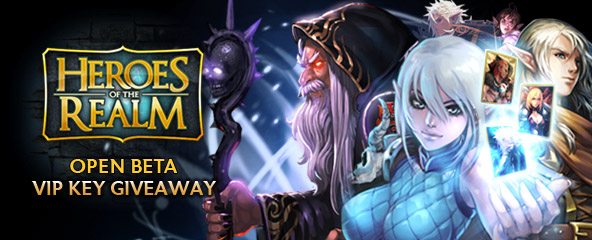 Heroes of the Realm: VIP Access Key Giveaway