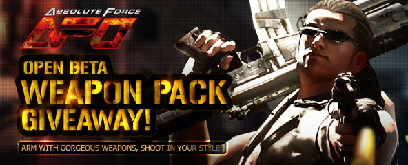 Absolute Force Online Weapon Pack Giveaway