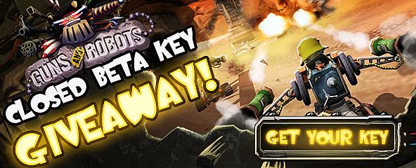 Guns and Robots Closed Beta Key Giveaway