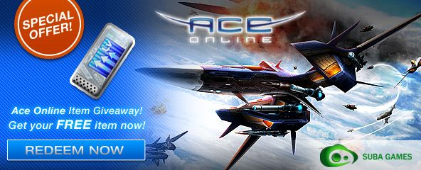Ace Online Gift Key Giveaway