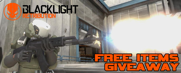 Blacklight Retribution Free Items Giveaway