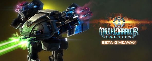 MechWarrior Tactics Closed Beta Key Giveaway