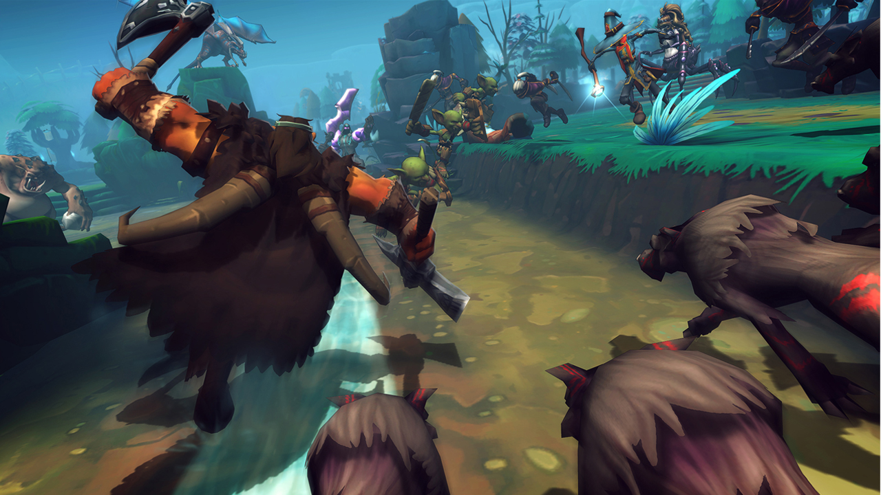 dungeon defenders 2 pc free download