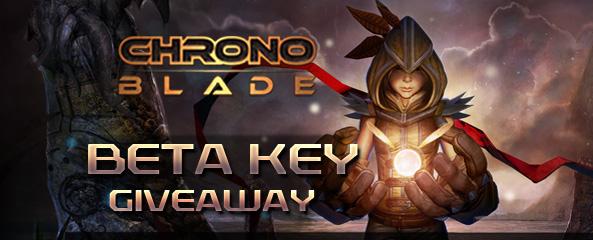 ChronoBlade Closed Beta Key Giveaway (More Keys)