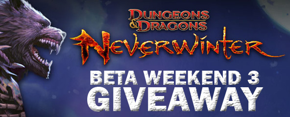 Neverwinter Beta key Giveaway
