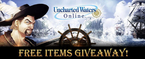 Uncharted Waters Online Free Items Giveaway