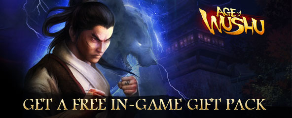Age of Wushu Gift Pack Giveaway