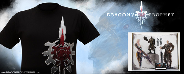 Dragons Prophet EU Merchandise Giveaway