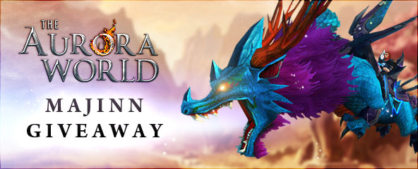 The Aurora World Exclusive Majinn Pack Giveaway