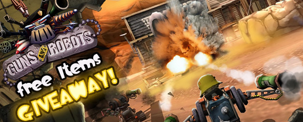 Guns And Robots Free Credits Giveaway