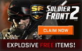 Soldier Front 2 Free Items Giveaway