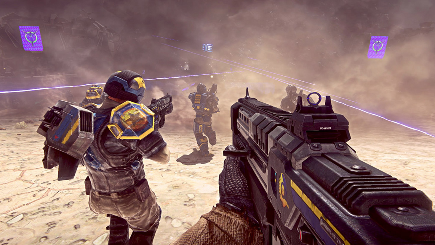 Planetside 2 drops first performance patch provides monumental fps