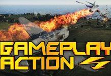 WarThunder Dual Commentary w/ Jason - Gameplay Action