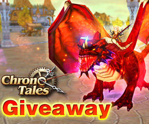 Chrono Tales Server 15 Free Items Giveaway