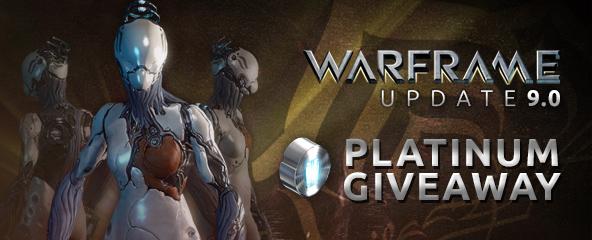 Warframe Update 9 Free Platinum Giveaway (Worth $499)