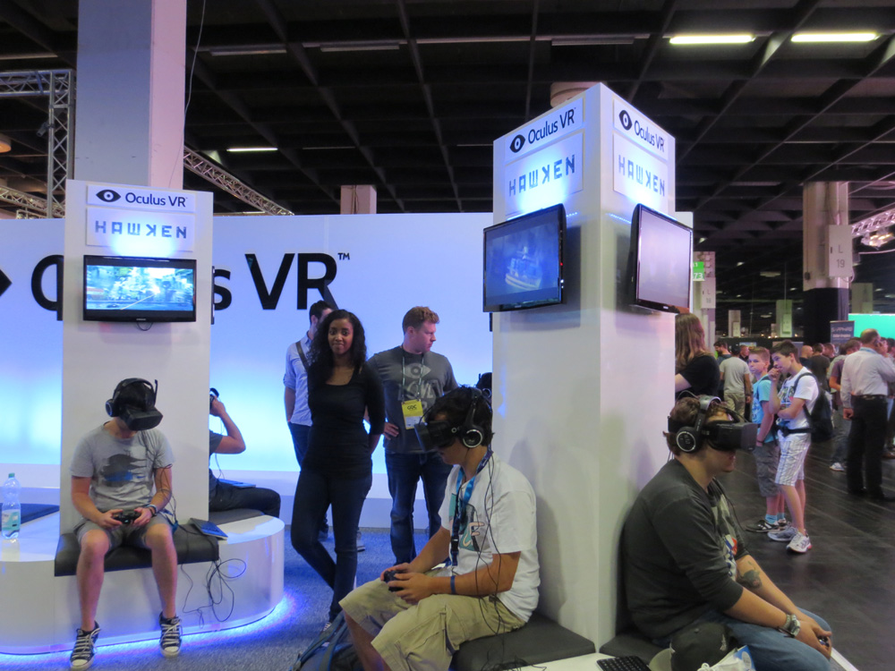 Exhibition Booth Games : Hawken even more fun with oculus rift gamescom