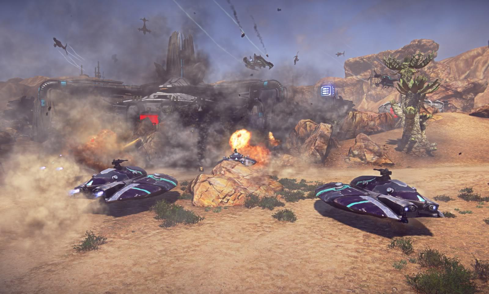 Planetside 2 Optimizations Continue, Explosive Animation Improvements Incoming