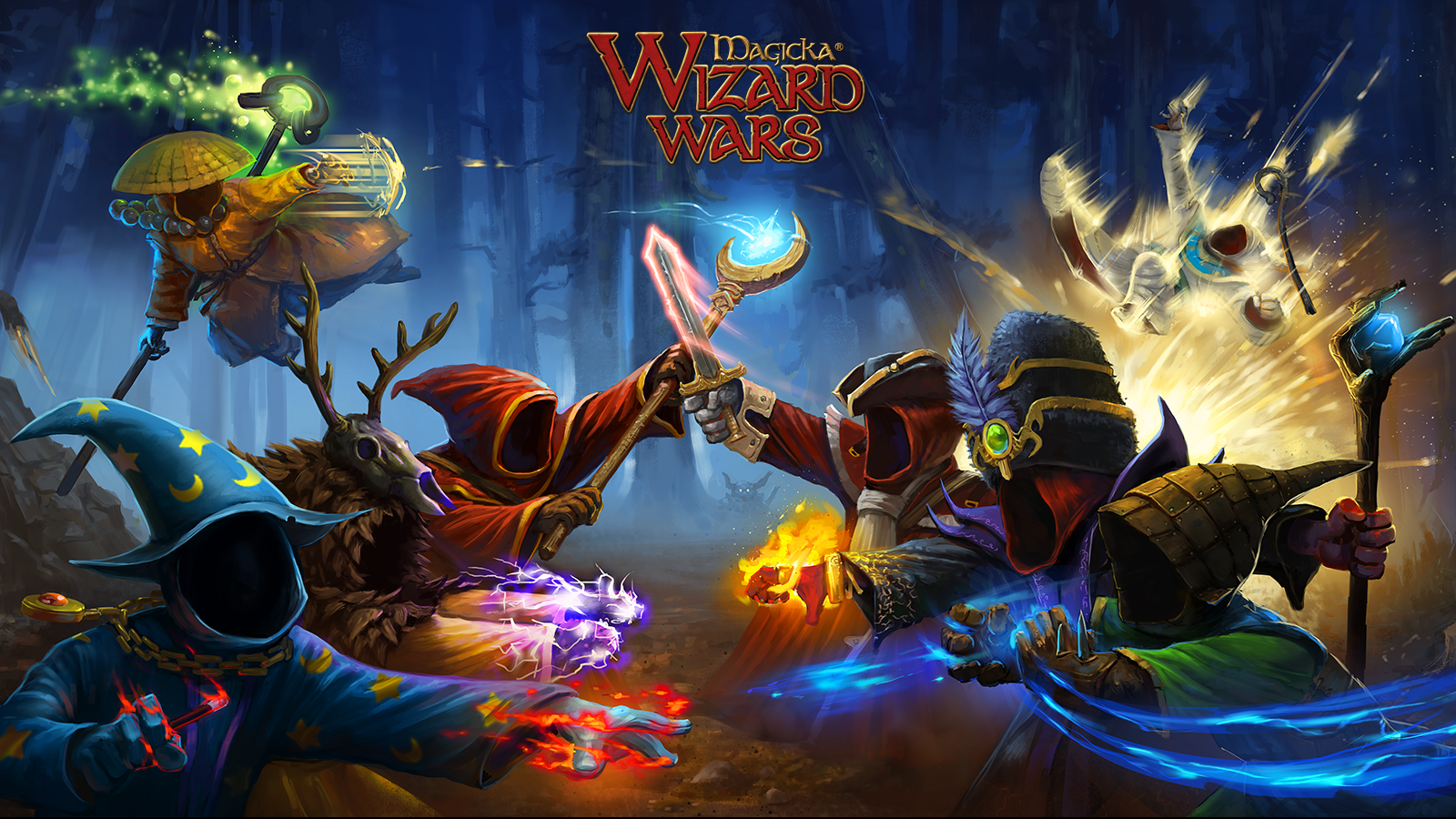 Word Play: Magicka: Wizard Wars - MMO Bomb