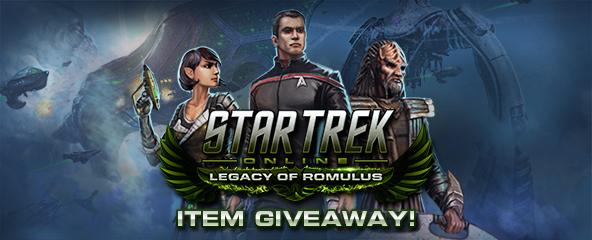 Star Trek Online Uniform Item keys Giveaway