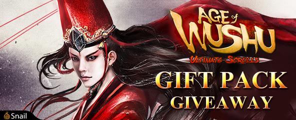 Age of Wushu Legacy Packs Giveaway