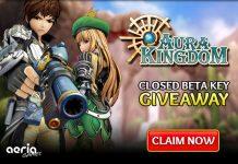 Aura Kingdom Closed Beta Key Giveaway 2