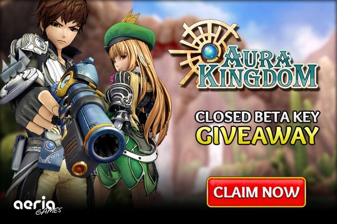 Aura Kingdom Closed Beta Key Giveaway
