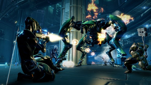 Warframe-attack