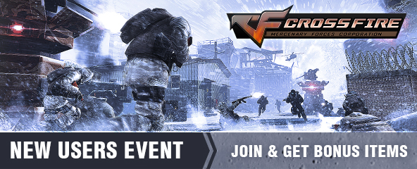 CrossFire New Users Event Giveaway