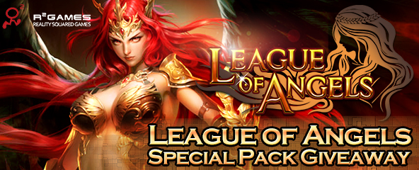 League of Angels Special Pack Giveaway