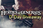 Heroes & Generals: MMOBomb D-day Weapon Giveaway