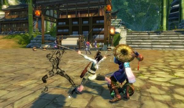Asian martial arts mmorpg