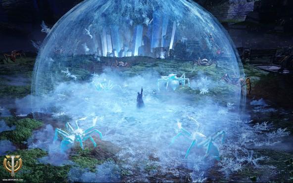Cryomancer-Bubble-Freeze