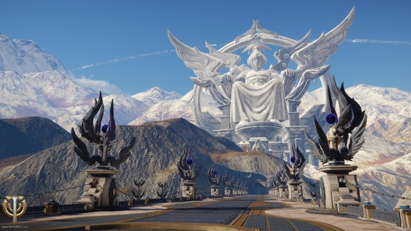 Skyforge-Lanber-Zone-shrine