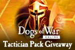 Dogs of War Online Tactician Pack Giveaway