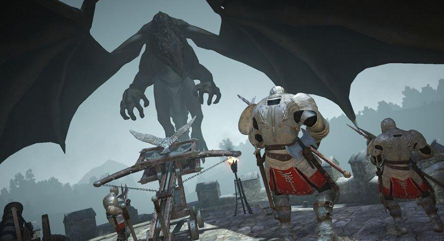 Black-Desert-Dragon-Fight
