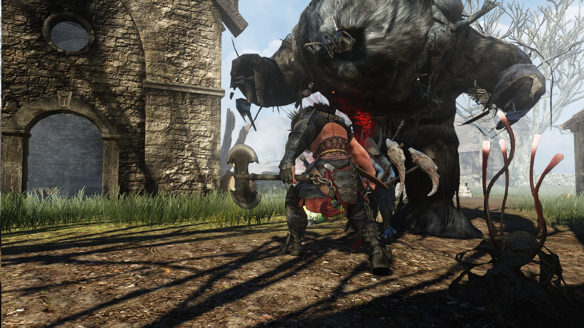 Black-Desert-Giant-Bear-PvE