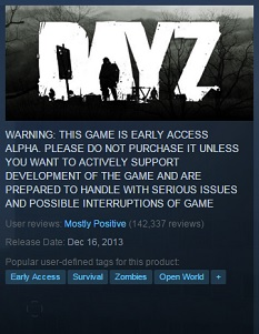 THE TRUE REASON FOR EARLY ACCESS