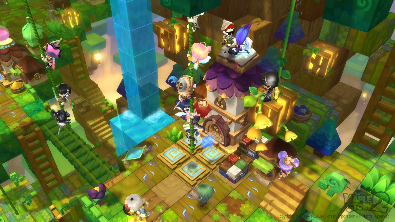 Maplestory 2 review and download mmobomb com