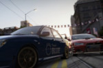 World of Speed Trailer Races Impreza and Lancer on the Streets of London