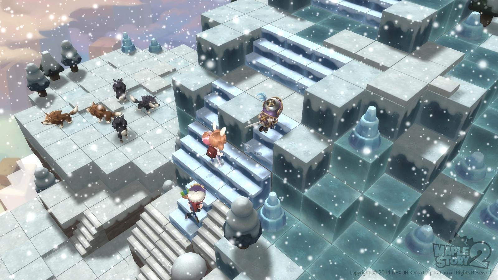 Maplestory 2 review and download.