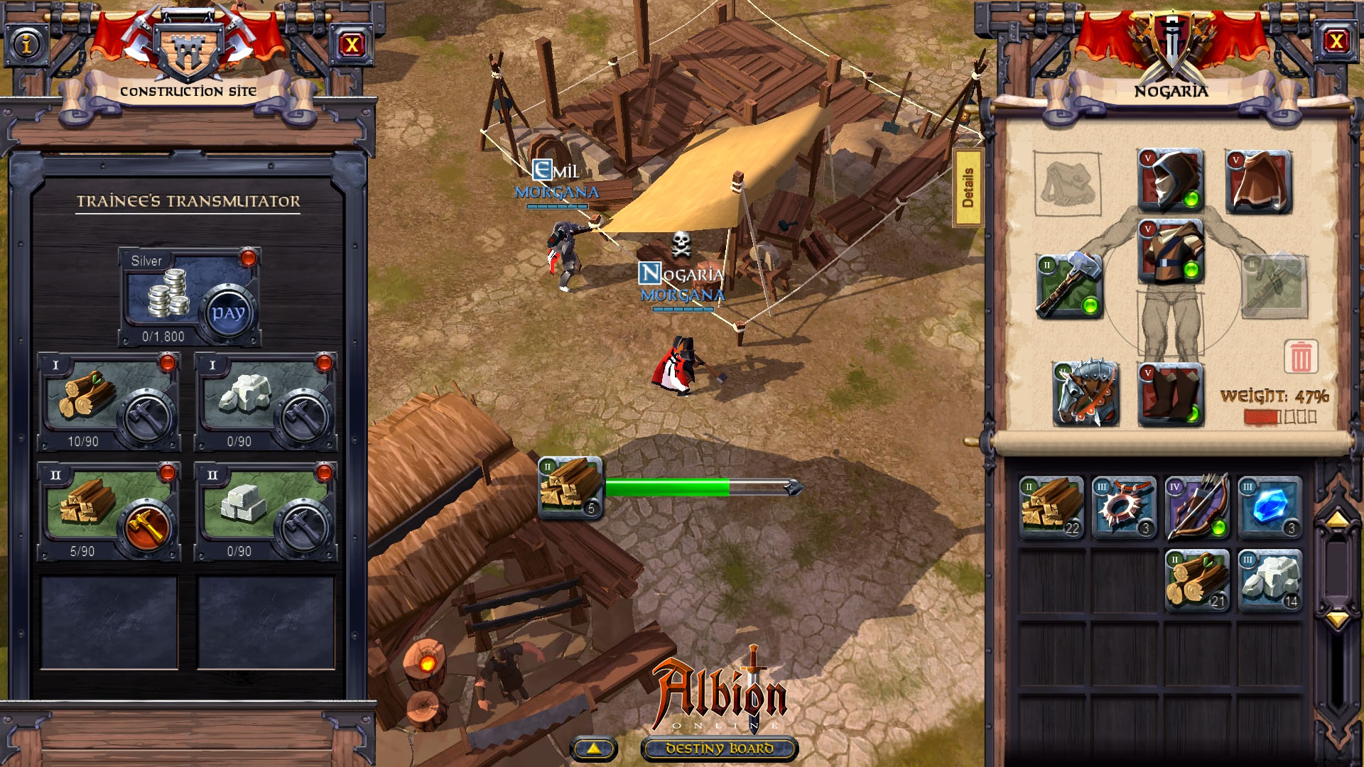 Albion online review and download for Build a home online free